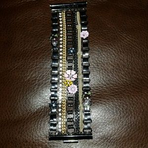 Juicy couture multi chain toggle bracelet